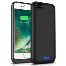 For iPhone 7 Battery Case 4500mAh Ultra Slim Extended Batery Backup Bl