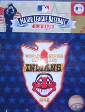 Cleveland Indians Chief Wahoo Jersey Sleeve Official MLB Logo Patch FREE SHIPPIN