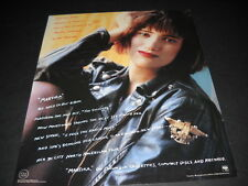 MARTIKA the sound of a major career in the making 1989 PROMO POSTER AD mint cond