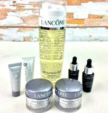 Lancome Paris Skin Care Lot of 7 Cleansing Oil Anti Wrinkle Cream Youth Activate