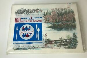 Vintage Happy Home From Woolworth's Paper Placemats Pack of 100