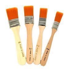 4Pcs Nylon Acrylic Oil Painting Brush Cleaning Dust Artists Paint Tool Kit