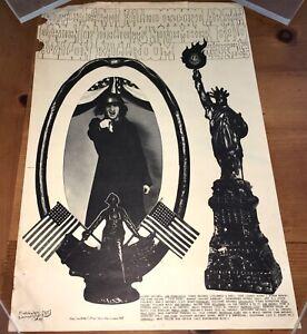 MOTHER EARTH / KALEIDESCOPE (1968) AVALON BALLROOM ORIG. CONCERT POSTER!