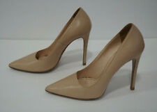 PRADA - WOMEN – Leather Pointed-Toe Pumps – Nude Color - Size 38 – Preowned