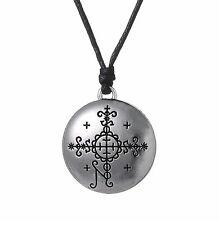 Papa Simbi Voodoo Loa Veve Pendant Necklace Protective, Talisman Jewelry d6