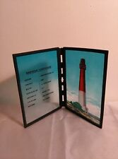 "Sun Catcher, Barnegat Lighthouse, Nj, 8"", Hand Painted"