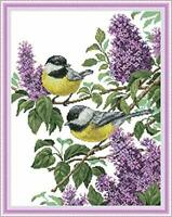 Cross Stitch Kits 11CT Stamped Easy Patterns Embroidery for Girls