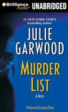 MURDER LIST unabridged audio book CD by JULIE GARWOOD - Brand New 10 CDs 12 Hrs!