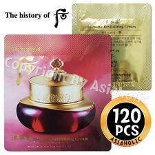 The history of Whoo Intensive Revitalizing Cream 120pcs Jinyul Cream 2017 New