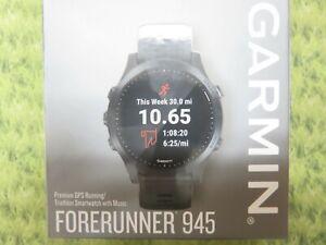 NEW * Garmin FORERUNNER 945 GPS Watch Garmin Pay Music * 010-02063-00