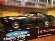 Ertl 1:18 1969 Pontiac GTO Judge 1 Of 2500 Collector Guild Item 29157