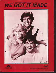 We Got It Made 1983 Television Series Teri Copley Matt McCoy Sheet Music
