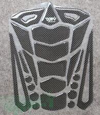 Carbon Fiber Fuel Gas Tank pad Decals Sticker For Honda Suzuki Yamaha Kawasaki