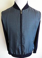 $2075 BRIONI Rare Color Cashmere with Silk Cardigan Sweater Jacket Size Large