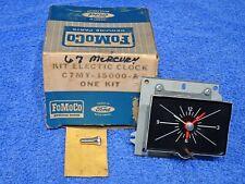 1967 Mercury Electric Dash Clock NOS