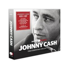 Johnny Cash The Essential Collection Box set 2 CDs & DVD Live in concert 1994