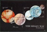 GAMBIA  2018 THE MILKY WAY  SHEET  MINT NH