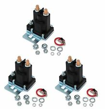 (3) RELAY SOLENOIDS for Western 56131K for Buyers SAM 1306310 4 Post w/ Hardware