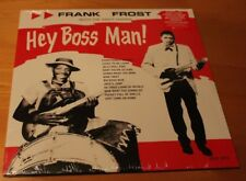 Frank Frost Night Hawks Hey Boss man New Sealed red vinyl Black Friday RSD 2016