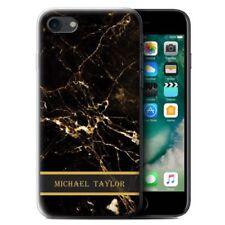 Fundas y carcasas mate Para iPhone 7 color principal negro para teléfonos móviles y PDAs
