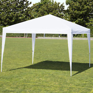 Best Choice Products 10' x 10' Pop Up With  Canopy Carrying Bag (White)