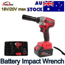 Cordless Impact wrench Electric high torque Driver Tool Rattle Gun 20V battery
