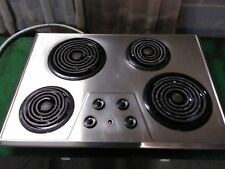 30 inch Ge stainless steel electric cooktop
