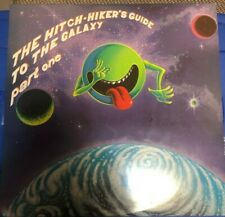 HitchHikers Guide To Galaxy + Restaurant at End Universe Vinyl 3-Record Set 1982