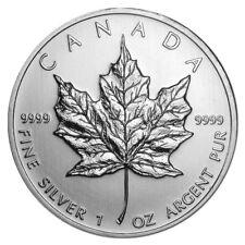 1 oz Silber Maple Leaf Verschiedene Jahrgänge - Kanada