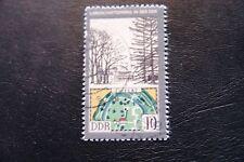 DDR, 1981, Landschaftsparks in der DDR (gestempelt)