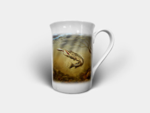 Pike, Common Carp & Mirror Carp Bone China Mugs/Cups