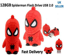 Hot 128GB USB 2.0 Flash Drive Memory Stick Pendrive Spider man Fancy UK Seller