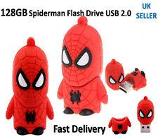 Hot 128GB USB 2.0 Flash Drive Memory Stick Pendrive Spider man Fancy UK Seller