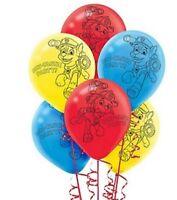 "10 x PAW PATROL Printed Latex Balloons 12"" Birthday Party Decoration PAW-TASTIC"