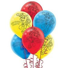 "6 x PAW PATROL Printed Latex Balloons 12"" Birthday Party Decoration PAW-TASTIC"