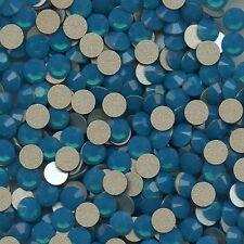 2028 SS20 BC*** 30 STRASS SWAROVSKI FOND PLAT SS20(4,7mm) CARIBBEAN BLUE OPAL F