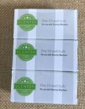 Scentsy 15 watt bulb- 3 pack