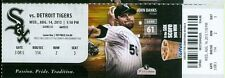 2013 White Sox vs Tigers Ticket: Miguel Cabrera homers in 5 of last 6 games