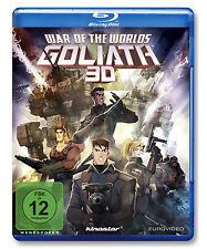 3 D Blu-ray * 3D WAR OF THE WORLDS : GOLIATH # NEU OVP %