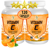 2 X Vitamin C 1,500MG Support Healthy Immune System, Antioxidant 120 Capsules