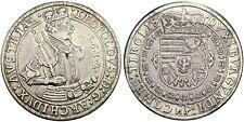 AUSTRIA , ARCHDUKE LEOPOLD V 1632 TALER THALER HALL MINT XF (AAA )  , RARE
