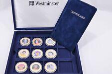 Westminster Queen Elizabeth II Diamond Jubilee 9 Coin Collection 2012