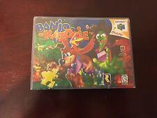 Banjo-Kazooie Empty Replacement Case (Nintendo 64, 1998)