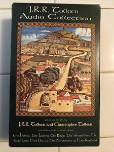 JRR Tolkien Audio Collection by Tolkien (1992 Cassette) Ex. Cond.
