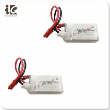 2X BATTERY 7.4V 850MAH FOR WLTOYS V 912 RC HELICOPTER SPARE PARTS V912-21 NEW