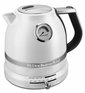 KitchenAid Pro Line Electric Water Boiler/Tea Kettle | Frosted Pearl