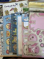 Mixed Lot Of Decoupage & Topper Sheets, Kanban Etc - Craft Clearout - Job Lot