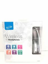 iLIVE Wireless Headphones Bluetooth Micro SD Slot Aux Rechargeable Battery Folds