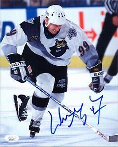 "WAYNE GRETZKY Authentic Hand-Signed ""LA KINGS 3rd JERSEY"" 8x10 Photo (JSA COA)"