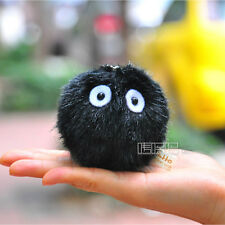 Totoro Spirited Away Dust Bunny Spirit Plush figure Pendant Keychain Japan Anime